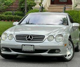 2003 MERCEDES-BENZ CL-CLASS CL600