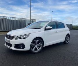 PEUGEOT 308 ALLURE 1.5 HDI 2018 FOR SALE IN TIPPERARY FOR €15,200 ON DONEDEAL