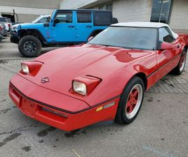1989 CHEVROLET CORVETTE CONVERTIBLE | AUTO | ULTRA CLEAN! | AS-IS | VEHICLE IN MILES | CAR