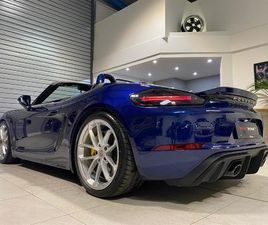 718 SPYDER, 918 BUCKET SEATS, PCCB'S, LED LIGHTS, BURMESTER STEREO, EXTENDED LEATHER AND P