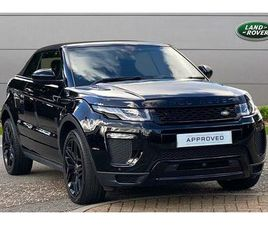 2017 LAND ROVER RANGE ROVER EVOQUE 2.0TD4 HSE DYNAMIC LUX (S/S) CONVERTIBLE 2D AUTO - £36,