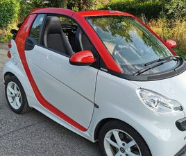 SMART FORTWO CITYFLAME MHD SOFTOUCH