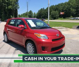 RED COLOR 2009 SCION XD BASE FOR SALE IN FUQUAY VARINA, NC 27526. VIN IS JTKKU10499J040650