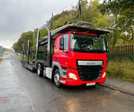 2015 DAF 460 EURO 6 6X2 TESTED 11 CAR LOHR 4MT FOR SALE IN DUBLIN FOR £23,500 ON DONEDEAL