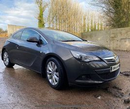 ASTRA 2.0 GTC 165 BHP LOW MILEAGE FOR SALE IN LIMERICK FOR €9,000 ON DONEDEAL