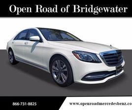 WHITE COLOR 2020 MERCEDES-BENZ S-CLASS S 450 4MATIC FOR SALE IN BRIDGEWATER TOWNSHIP, NJ 0