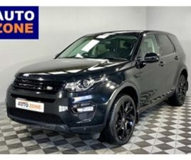 USED 2016 LAND ROVER DISCOVERY SPORT DIESEL SW ESTATE 81,256 MILES IN BLACK FOR SALE   CAR