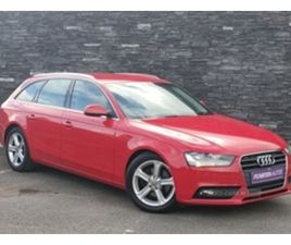 USED 2013 AUDI A4 DIESEL AVANT ESTATE 133,000 MILES IN RED FOR SALE   CARSITE