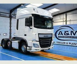 DAF TRUCKS XF 460 SUPERSPACE EURO 6 AUTOMATIC GEARBOX, ENGINE BRAKE,