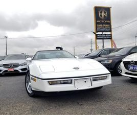 USED 1989 CHEVROLET CORVETTE RARE EXTREMELY CLEAN|RED INTERIOR|CERTIFIED
