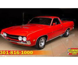 FOR SALE: 1970 FORD RANCHERO IN ROCKVILLE, MARYLAND