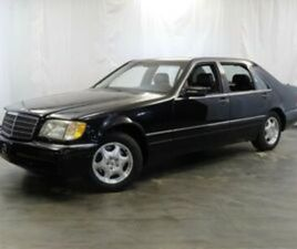 1997 MERCEDES-BENZ S-CLASS S320 6-CYL ENGINE / RWD