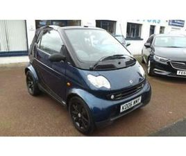 2006 SMART FORTWO 0.7 PURE SOFTOUCH 2D 61 BHP CONVERTIBLE PETROL AUTOMATIC