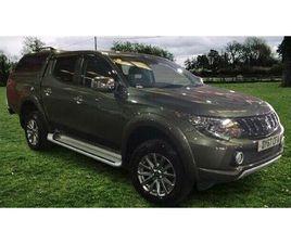 2017 MITSUBISHI L200 2.4DI-D BARBARIAN (178BHP) (EU6) AUTO - £20,495 +VAT
