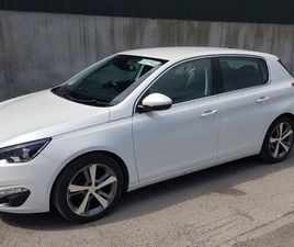 141 PEUGEOT 308 ALLURE ( HIGH SPEC) 1.6HDI 92 FOR SALE IN KILDARE FOR €9,600 ON DONEDEAL
