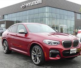 RED COLOR 2020 BMW X4 M40I FOR SALE IN SPRINGFIELD, VA 22150. VIN IS 5UX2V5C03LLE69364. MI