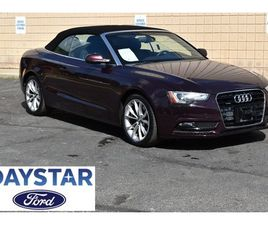 RED COLOR 2014 AUDI A5 PREMIUM PLUS FOR SALE IN GARRETTSVILLE, OH 44231. VIN IS WAULFAFH7E