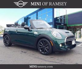 GREEN COLOR 2019 MINI COOPER CONVERTIBLE S FOR SALE IN RAMSEY, NJ 07446. VIN IS WMWWG9C57K
