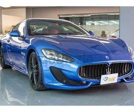 MASERATI GRANTURISMO 4.7L V8 454HP, BLUE 2016, FSH.   DUBIZZLE