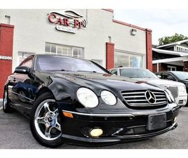 BLACK COLOR 2002 MERCEDES-BENZ CL-CLASS CL 600 FOR SALE IN WINCHESTER, VA 22601. VIN IS WD