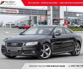 USED 2012 AUDI A5 S-LINE
