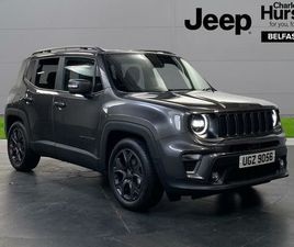 2021 JEEP RENEGADE 1.0 GSE 80TH ANNIVERSARY - £23,999
