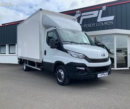 IVECO DAILY CCB – 35C16 EMPATTEMENT 4100 CAISSE 20M3 HAYON