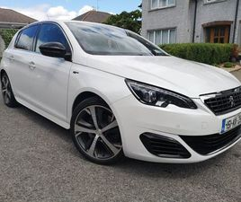 2015 308 GT 2.0 HDI 180 AUTO, ONLY 38K, AS NEW !!! FOR SALE IN KILKENNY FOR €14,950 ON DON