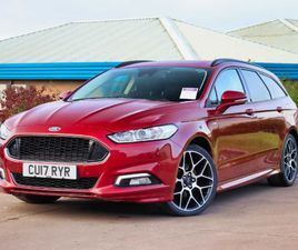 FORD FORD MONDEO ESTATE 2.0 TDCI 180 ST-LINE X 5DR 19IN Y SPOKE ALLOYS SONY NAV
