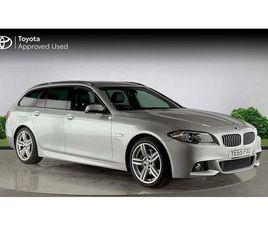 BMW 5 SERIES DIESEL TOURING 535D M SPORT 5DR STEP AUTO 3.0