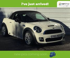 MINI ROADSTER 2.0 COOPER S D 2DR [SPORT CHILI PACK] LEATHER SEATS