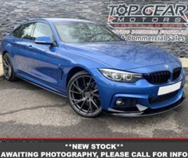 USED 2016 BMW 4 SERIES 3.0 430D M SPORT GRAN COUPE 255 BHP COUPE 55,000 MILES IN BLUE FOR