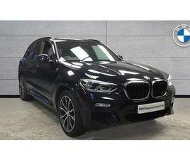 BMW X3 G01 X3 XDRIVE20I M SPORT B48 2.0I