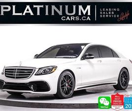 USED 2018 MERCEDES-BENZ S-CLASS AMG S63,AMG,EXECUTIVE PKG,REAR ENTERTAINMENT,PANO