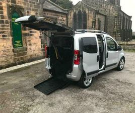 FIAT QUBO DIESEL SWITCH AUTO WHEELCHAIR ADAPTED VEHICLE FULLY REMOTE OPERATED