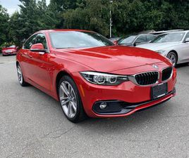 RED COLOR 2019 BMW 4 SERIES 430I XDRIVE GRAN COUPE FOR SALE IN OYSTER BAY, NY 11771. VIN I