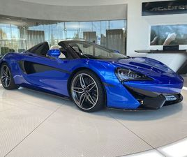 MCLAREN 570S SPIDER V8 SSG 1 OWNER, LUXURY AND SECURITY PACK BY DESIGN INTERIOR 3.8 AUTOMA