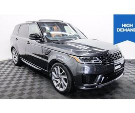 USED 2019 LAND ROVER RANGE ROVER SPORT HSE DYNAMIC
