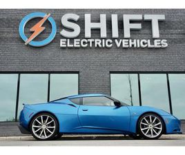 USED 2011 LOTUS EVORA S 6 SPEED MANUAL, 2+0, PREMIUM AND TECH PACKAGE