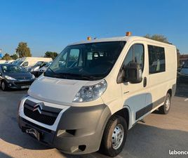 JUMPER III 2.2 HDI 6PLACES DOUBLE CABINE L1H1 142000KM