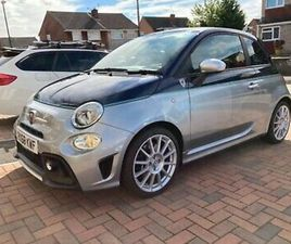 FIAT ABARTH 695 RIVALE ONLY COVERED 7115 MILES FROM NEW (VERY RARE LTD EDITION)