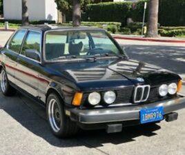 1980 BMW 320I 1980 BMW 320I SUNROOF COUPE/ AC/ORIGINAL PAINT AND INTERIOR