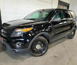 2015 FORD UTILITY POLICE INTERCEPTOR AWD 6 TO CHOOSE-CENTER CONSOLE-NEW BRAKES-TIRES   CAR