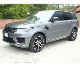 USED 2019 LAND ROVER RANGE ROVER SPORT SUPERCHARGED