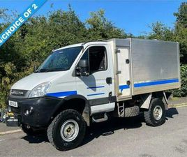 2010 10 IVECO DAILY 3.0 55S17W 170 BHP MANUAL 4X4 HIGH SIDE TIPPER (IDEAL TREE S