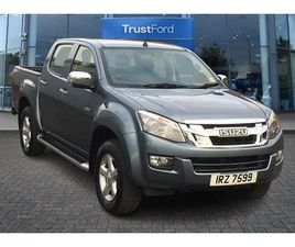 USED 2015 ISUZU D-MAX 2.5TD YUKON DOUBLE CAB 4X4 NOT SPECIFIED 69,482 MILES IN GREY FOR SA