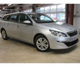 USED 2016 PEUGEOT 308 BLUE HDI SS SW ACTIVE ESTATE 22,000 MILES IN SILVER FOR SALE | CARSI