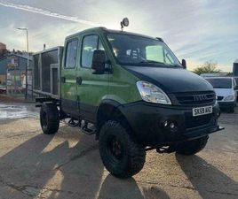 IVECO DAILY 55S18DW 310 4X4 HI/LO GEAR 7STR LIFTED CREWCAB 59 REG M: [PHONE NUMBER REMOVED