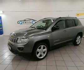 2011 JEEP COMPASS 2.2 CRD LIMITED 4WD 5DR SUV DIESEL MANUAL