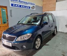 SKODA ROOMSTER NEW NCT AMBITION 1.2HTP 70HP FOR SALE IN CORK FOR €7,250 ON DONEDEAL